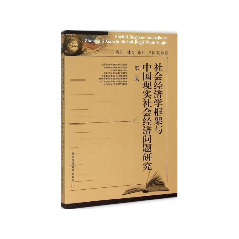 治经济学框架_社会经济学框架与中国现实社会经济问题研究(第2版) 王裕国 等著