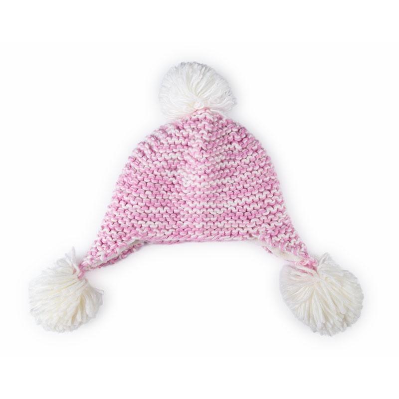 护耳宝宝编织帽子女宝