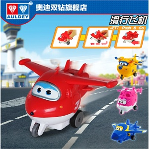 超级飞侠滑行飞机奥迪双钻动漫手办男孩玩具变形机器