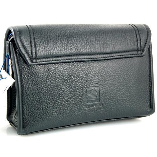 美国苹果牌男式黑色翻盖手包(小)-箱包皮具-当当触