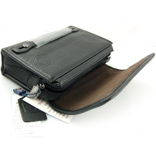 美国苹果牌男式黑色翻盖手包(小)-箱包皮具-当当触屏