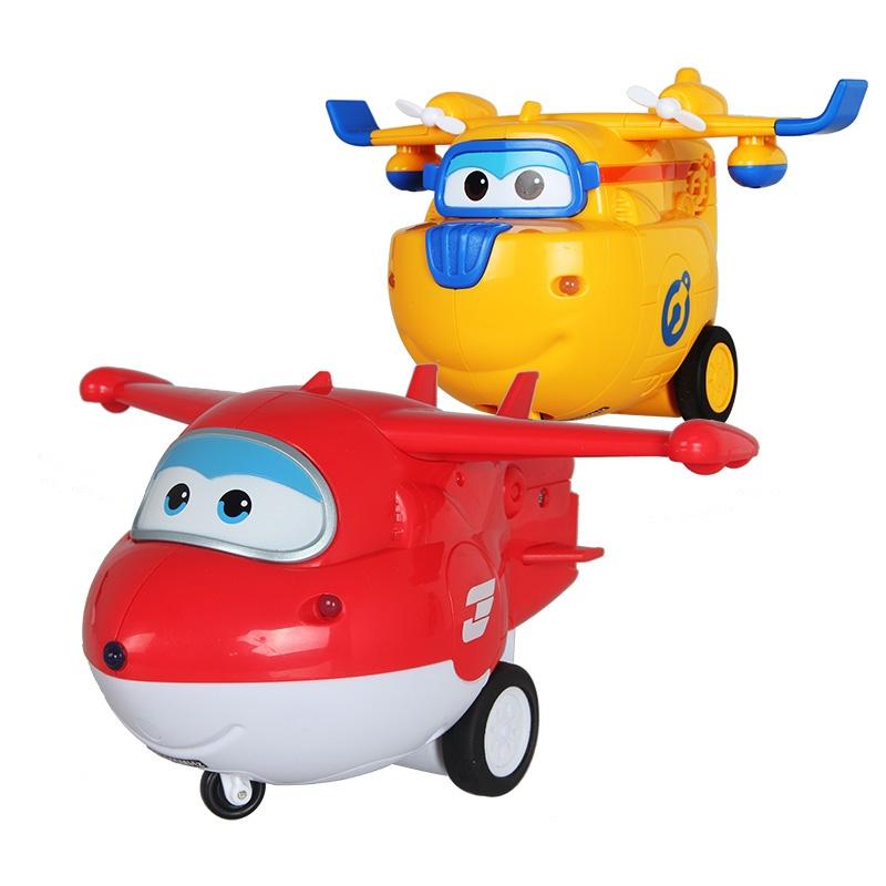 超级飞侠遥控飞机直升机奥迪双钻动漫手办男孩玩具变形机器人乐迪