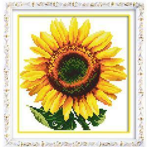 欧式刺绣 向日葵