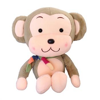 毛绒玩具大号卡通可爱布娃娃围巾猴 公仔玩偶生日礼物女圣诞节礼物