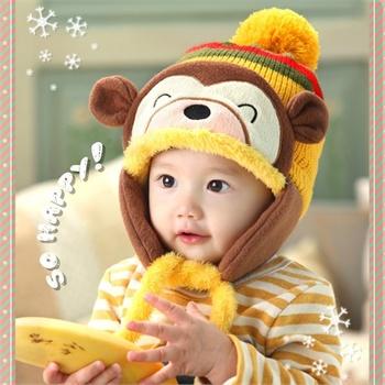 猴子造型帽 可爱小猴