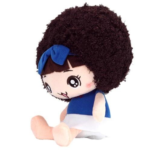 酷玩部落 毛绒动漫人物系列 微笑摩丝娃娃2#(蓝衣) 39