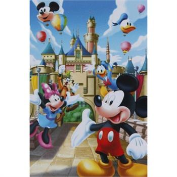 【拼图玩具】 乐园游米老鼠拼图 200片 11df2001640