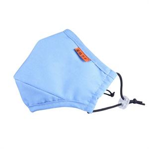 纳微正品 雾霾卫士pm2.5防护口罩 春夏轻薄款 浅蓝色