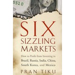 Six Sizzling Markets: How to Profit from Investing in Brazil, Russia, India, China, South Korea, and Mexico六大市场:如何在巴西、俄罗斯、印度、中国、韩国与墨西哥投资中获利