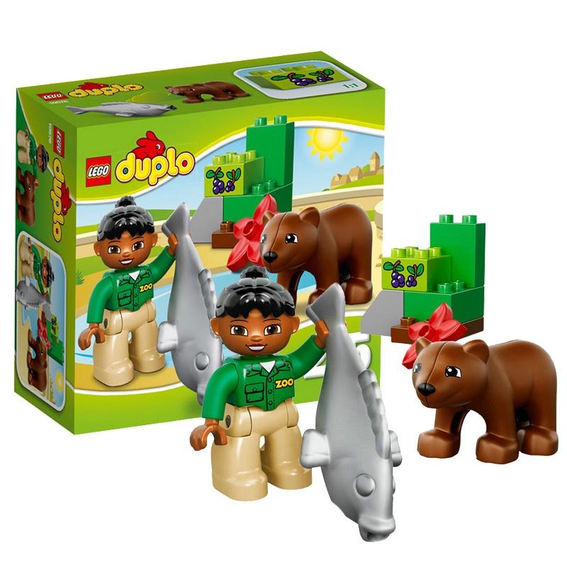 乐高 积木 玩具得宝系列 大颗粒拼图 6岁lego