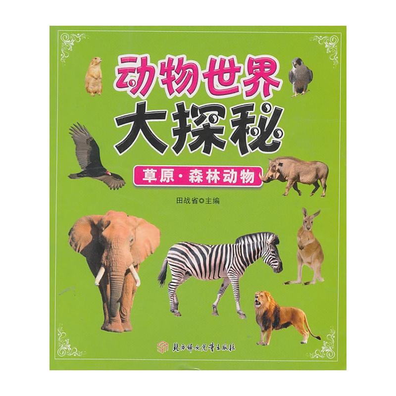 动物世界大探秘--草原.森林动物