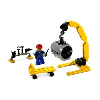 【lego乐高益智玩具】乐高飞机维修员价格