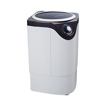 现代xpb48-800d迷你单桶洗脱两用洗衣机可脱水全铜电机透明面盖带甩干