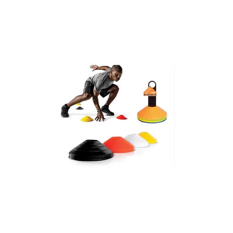 【锥障碍物 足球训练器材装备 健身用品道具 标