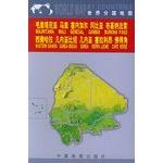 毛里塔尼亚 马里 塞内加尔 冈比亚 布基纳法索 西撒哈拉 几内亚比绍 几内亚 塞拉利昂 佛得角(世界分国地图)