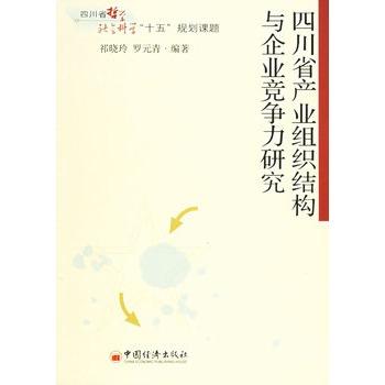 《四川省产业组织结构与企业竞争力研究》祁晓玲