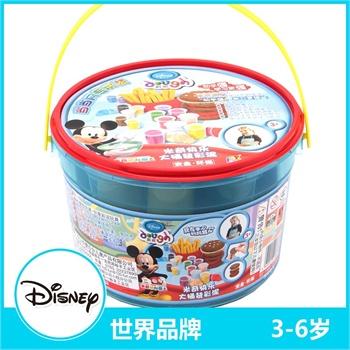 迪士尼/Disney 迪士尼DIY系列米奇快活大桶装彩泥(1KG装)...