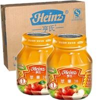 Heinz 亨氏 婴儿辅食 苹果汁 118g*12瓶
