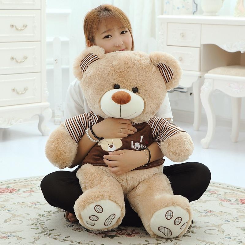 布娃娃泰迪熊 大熊公仔毛绒熊玩具 小熊生日礼物女生礼品