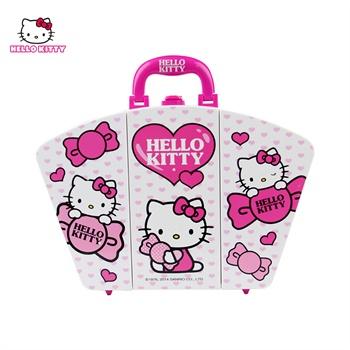 六一儿童节礼物!hello kitty凯蒂猫手提化妆箱儿童品.
