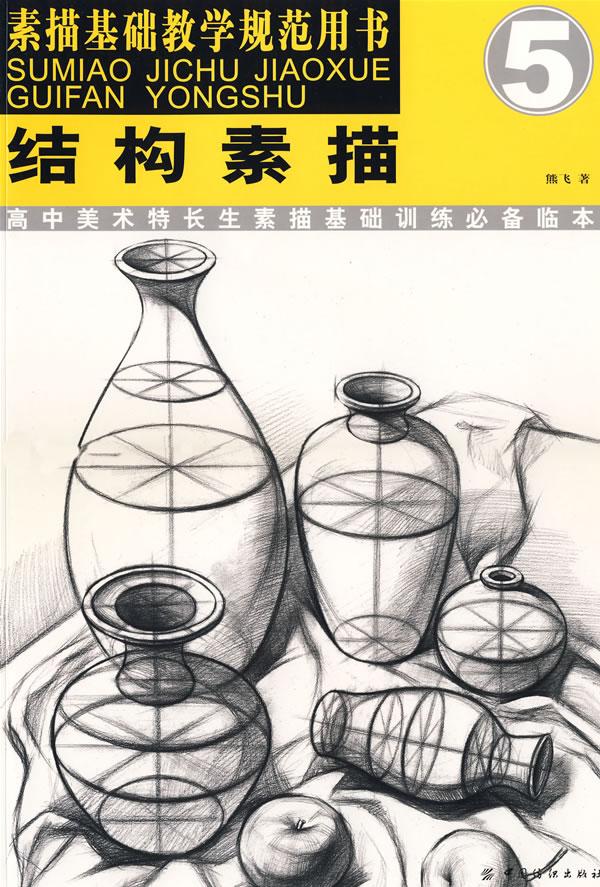 结构素描(素描基础教学规范用书5)(素描