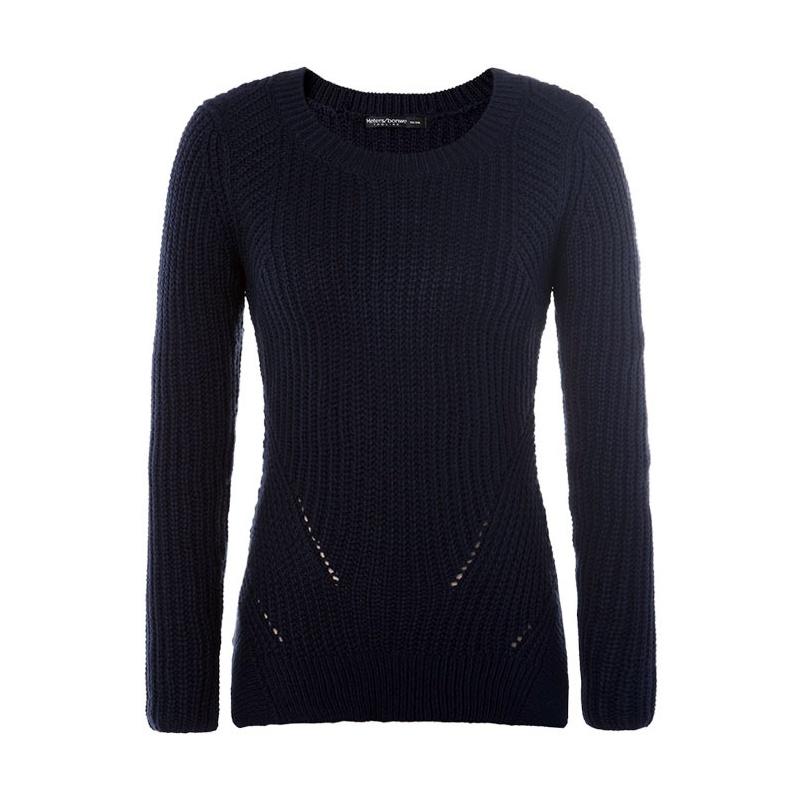 【美特斯邦威针织衫/毛衣】美特斯邦威 女鱼鳞组织套