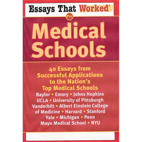 medical application essay This essay is one of my favorites the applicant tells a story and weaves a lot of information about his background and interests into it.