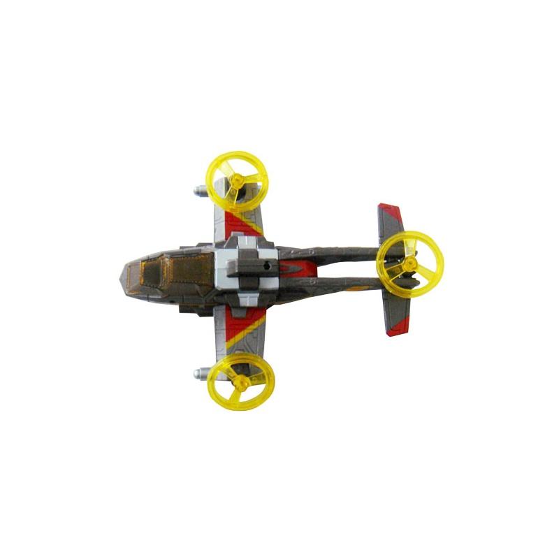 奥特曼的飞机玩具