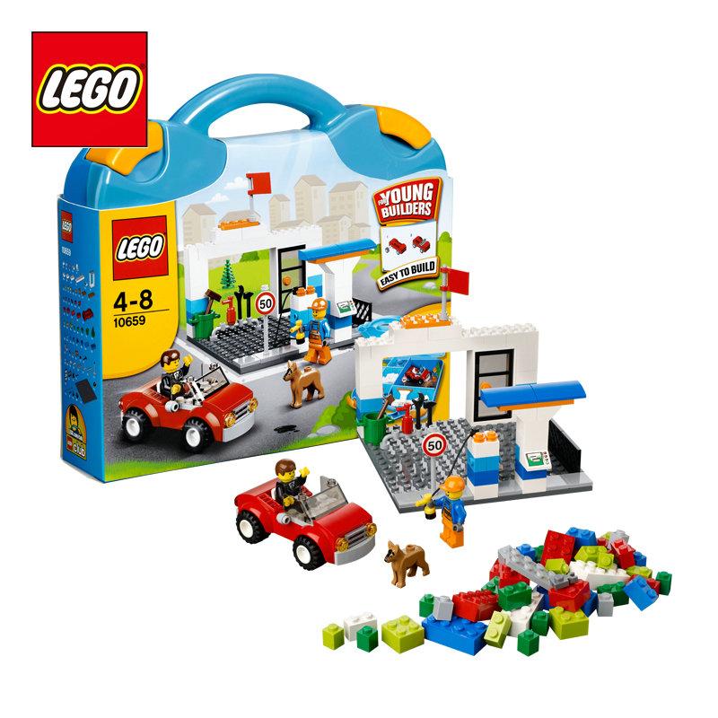 lego 乐高 创意拼砌系列 蓝色手提箱 儿童益智积木拼插玩具 l10659