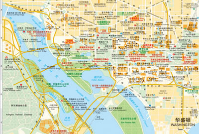 世界分国地图--美国(全新包装