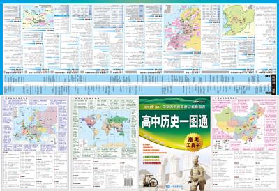考工具书,历史地图指南,中外历史时间轴对照,高