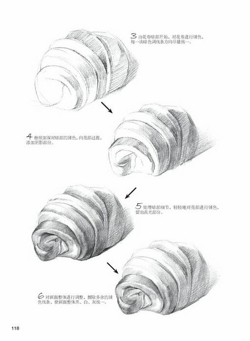 素描球体线条结构图解