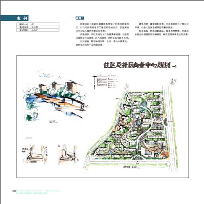 公园入口快题设计图展示