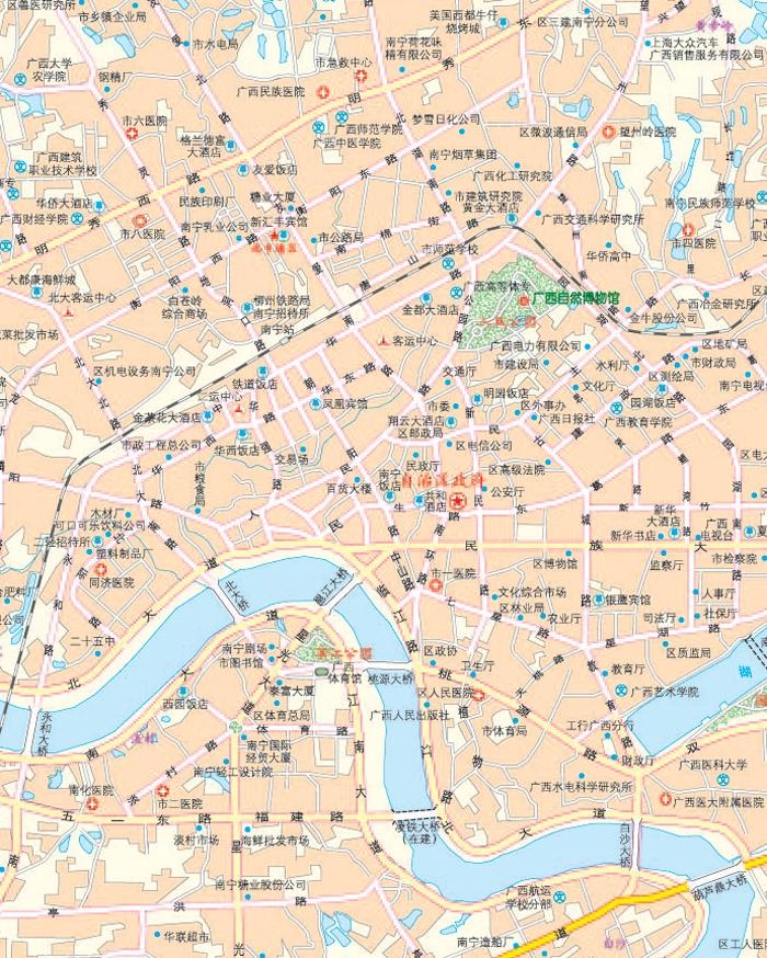 15年广西壮族自治区及周边地区公路里程地图册
