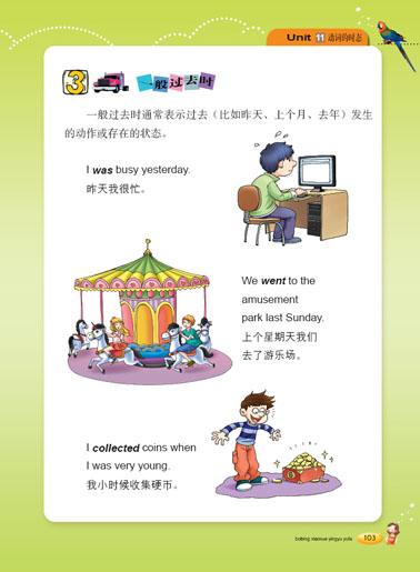 薄冰小学图解英语语法