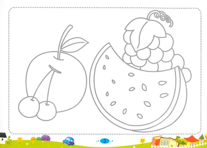 儿童画 简笔画 手绘 线稿 700_500