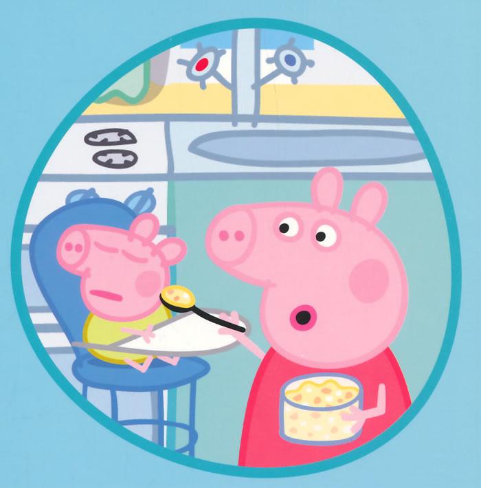 台湾直邮 小猪佩奇peppa pig粉红猪小妹佩佩猪过家家豪华房屋组