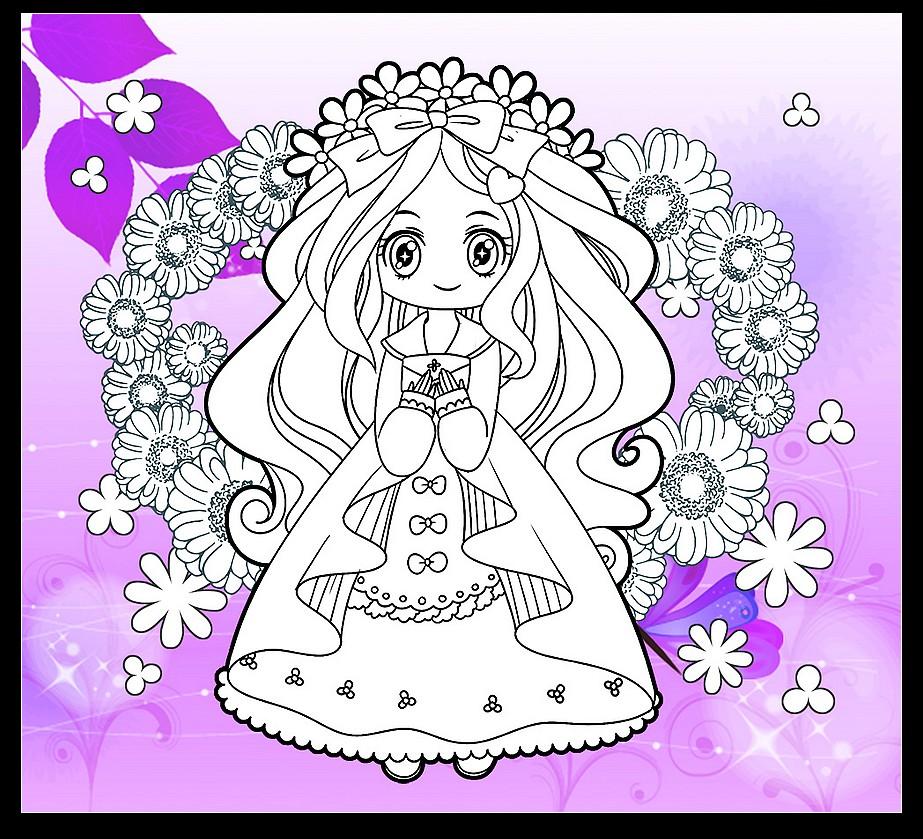 画美丽的公主仙子画_小仙子公主怎么画_小公主仙子