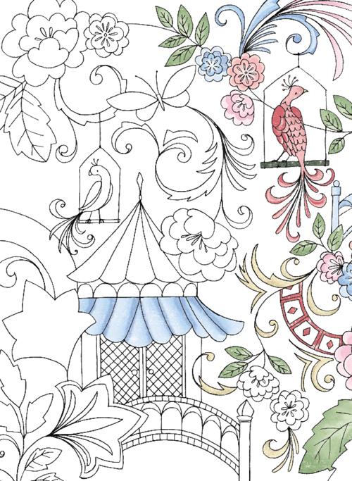 可爱的小动物等女孩喜欢的素材为基础做成涂鸦
