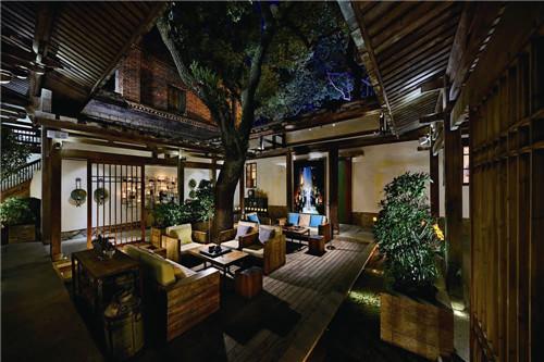 新中式餐饮空间设计