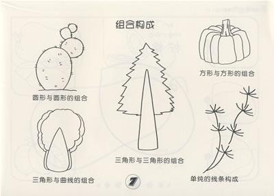 儿童简笔画创意大全:植物