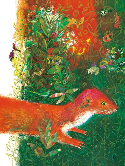 猫头鹰和啄木鸟/最美的儿童成长哲理绘本