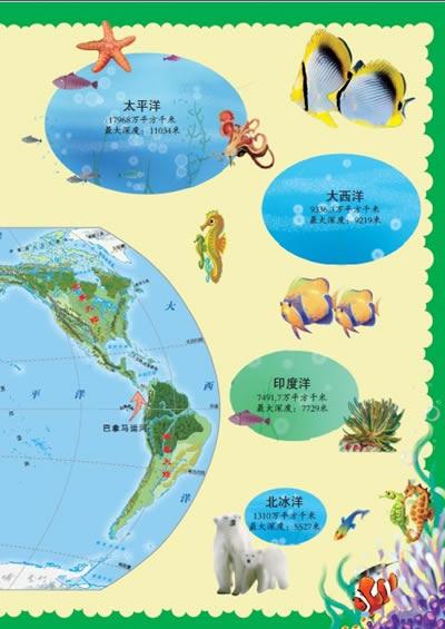海洋鱼类 学会数数1 10幼儿园