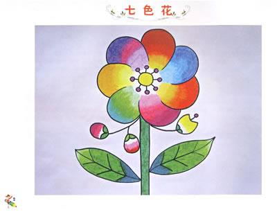 儿童画蝴蝶的画法