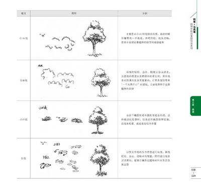 钢笔 马克笔园林景观效果图快速表现/23212254