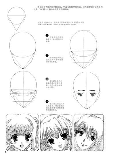 最全面的动漫人物造型素描教程!