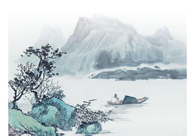 手绘古诗 游山西村