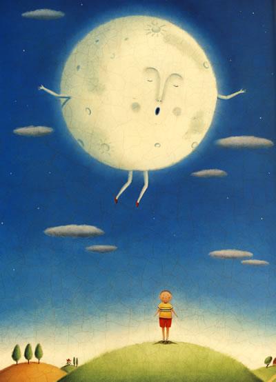 《我带月亮去散步》(美)克缇斯
