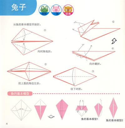 狮子怎么折纸图解