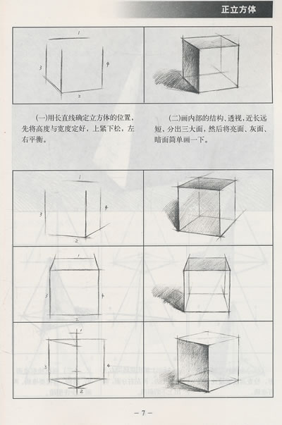 塞尚提倡通过圆柱体,圆锥体